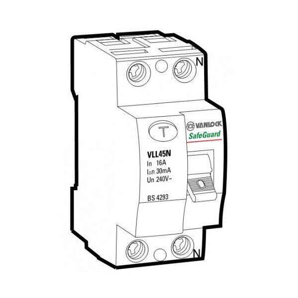 Cầu dao chống dòng rò RCCB VLL45N/2050/030