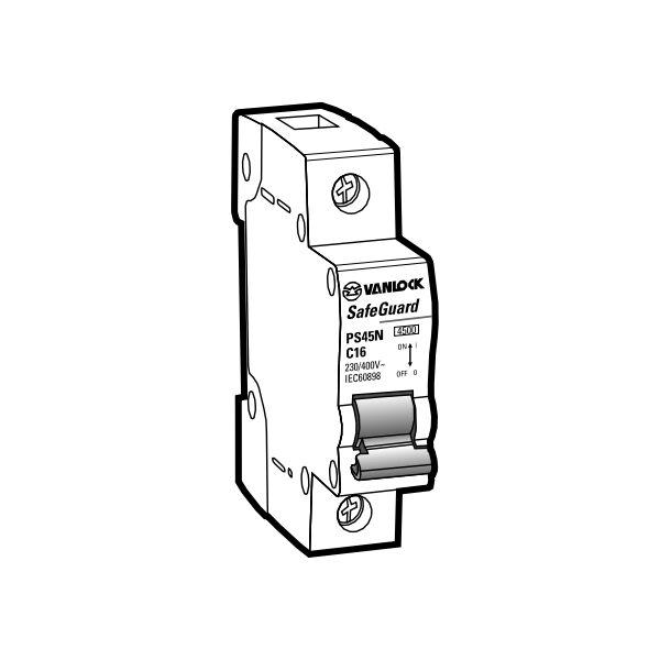 Cầu dao tự động MCB PS45N/C1006