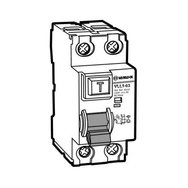 Cầu dao chống dòng rò RCCB VLL1-63/2040/100