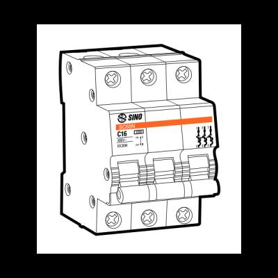 Cầu dao tự động MCB SC68N/C3016
