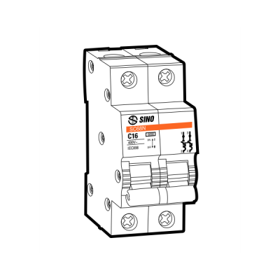 Cầu dao tự động MCB SC108N/C2016