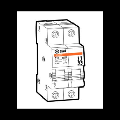 Cầu dao tự động MCB SC108N/C2025