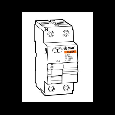 Cầu dao chống dòng rò RCCB SL68N/2016/030