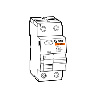 Cầu dao chống dòng rò RCCB SL68N/2020/100