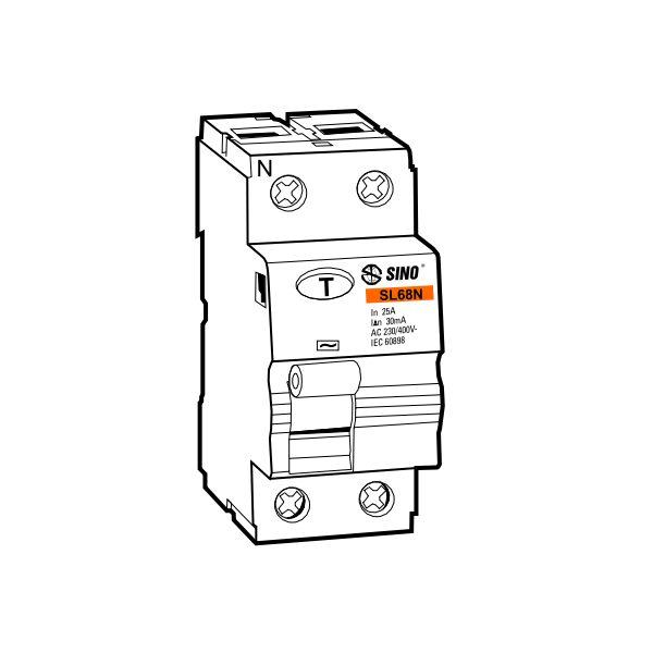 Cầu dao chống dòng rò RCCB SL68N/2040/100