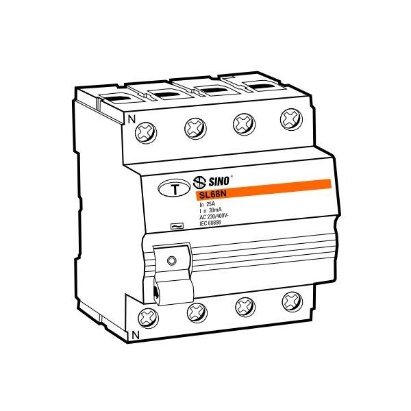 Cầu dao chống dòng rò RCCB SL68N/4025/030