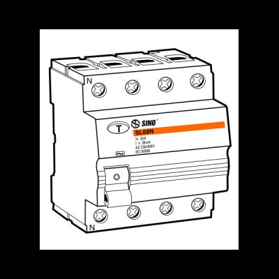 Cầu dao chống dòng rò RCCB SL68N/4040/030