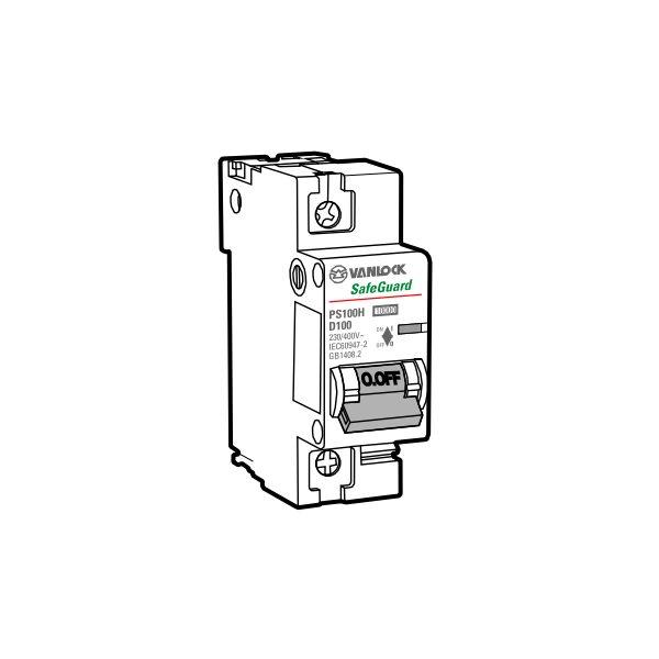 Cầu dao tự động MCB PS100H/1/D125