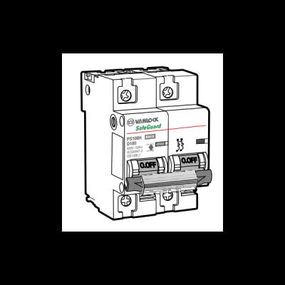 Cầu dao tự động MCB PS100H/2/D100
