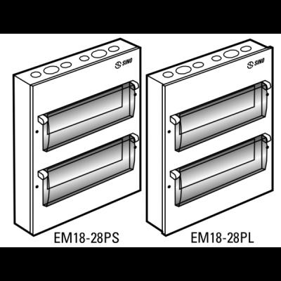 Tủ điện vỏ kim loại EM18PL
