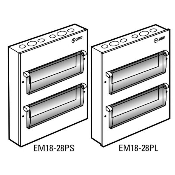 Tủ điện vỏ kim loại EM28PL