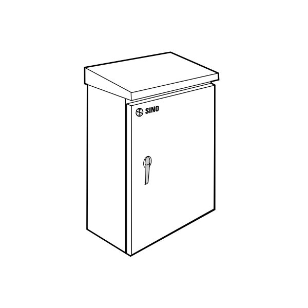 Tủ điện vỏ kim loại chống thấm CK0
