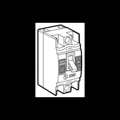 Cầu dao an toàn BS68N/2P10A