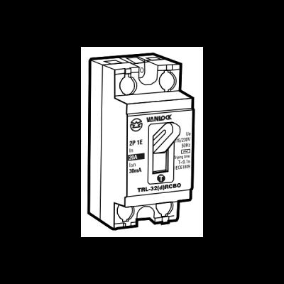 Tổ hợp cầu dao an toàn và cắt dòng rò TRL32/20A