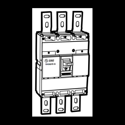 Cầu dao chống dòng rò SKM800/S4800