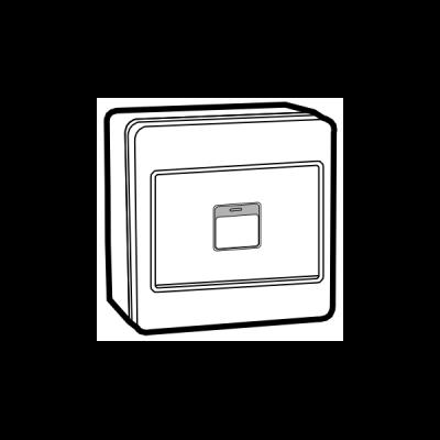 Công tắc nổi nút nhấn đơn UKW581-1