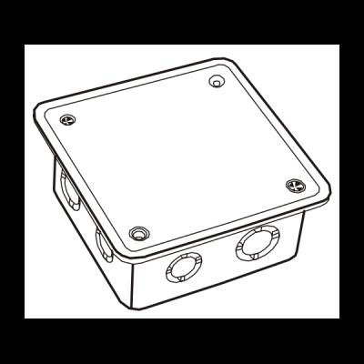 Hộp nối dây âm tự chống cháy E265A/3X