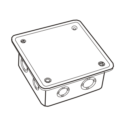 Hộp nối dây âm tự chống cháy E265A/33X