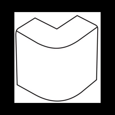 Cút chữ L dẹt AE100/A01