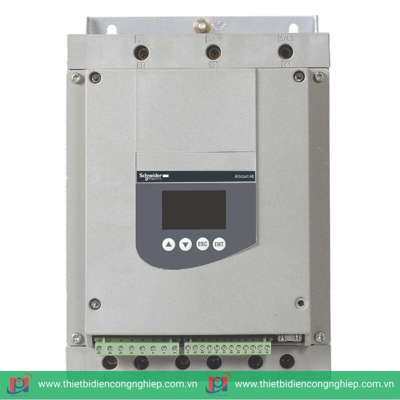 Ngoại hình sản phẩm khởi động mềm Schneider Altistart 48 ATS48D47Q