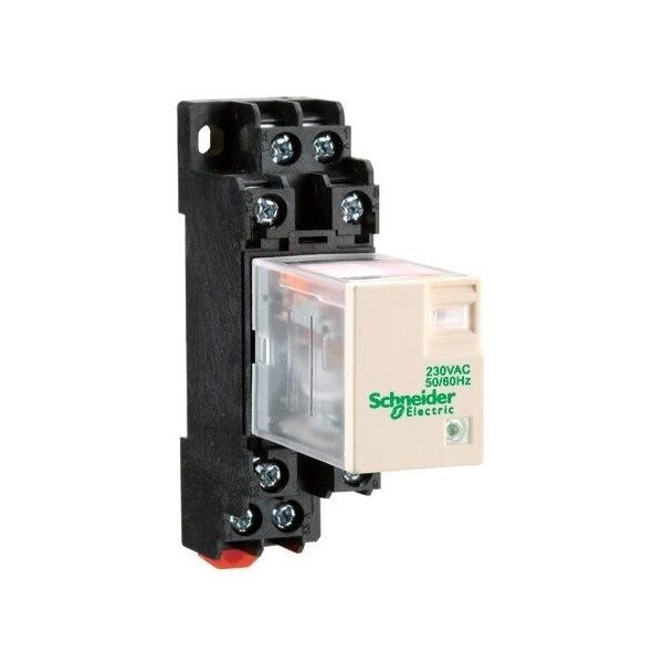 Miniature relay RXM2LB1BD