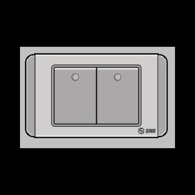 Công tắc đôi 2 chiều S68DGMN2