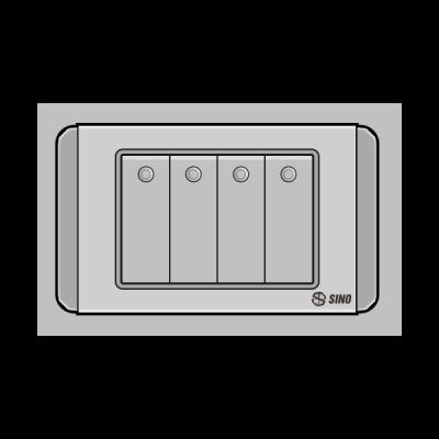 Công tắc bốn 2 chiều S68DGMN4