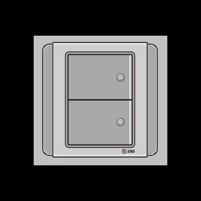 Công tắc đôi 2 chiều S66DGM2