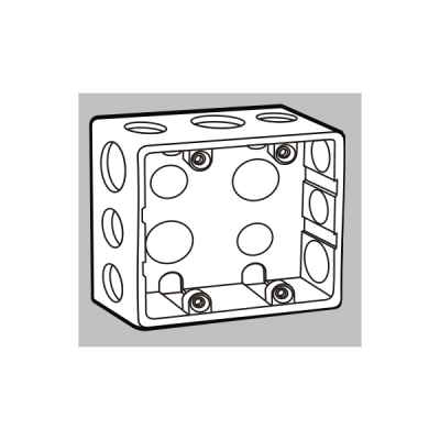 Đế âm mặt 4/6 mô-đun S2158H