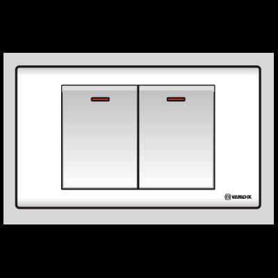 Công tắc đôi 1 chiều S182D1/DL