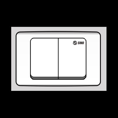 Công tắc đôi 1 chiều S92/1ND