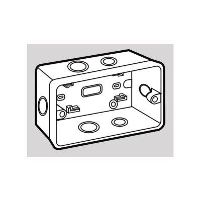 Đế âm nhựa SG100/HA/HB