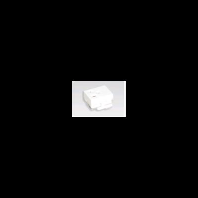 Ổ cắm đơn có dây nối đất và màn che - bắt vít WEG11817