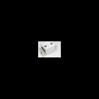ổ cắm đơn(dùng cho phích cắm tròn) WN10907KW