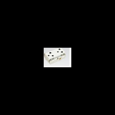 ổ cắm đôi có dây nối đất WNG159237W