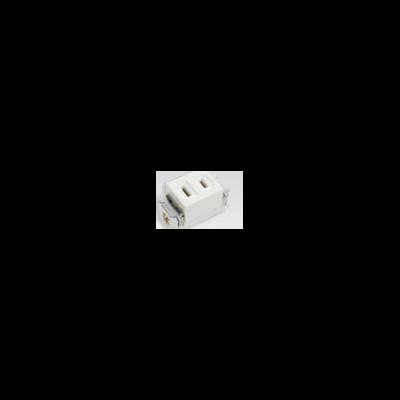 ổ cắm đơn(dùng cho phích cắm dẹp) WN1001-7KW