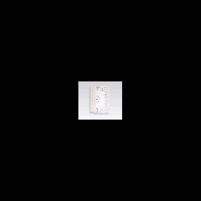 Hộp âm nhựa trắng, đơn FPCA101