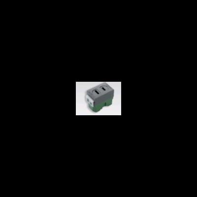Ổ cắm đơn (Dùng cho phích cắm dẹp) WEG1001H