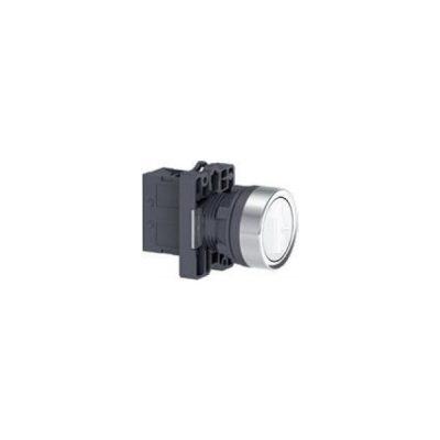 Nút nhấn có đèn báo Ø 22 Schneider XA2EW31B1