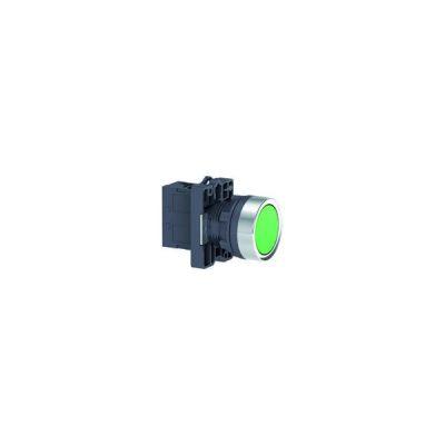 Nút nhấn có đèn báo Ø 22 Schneider XA2EW33M1