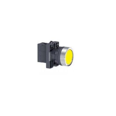 Nút nhấn có đèn báo Ø 22 Schneider XA2EW35Q1