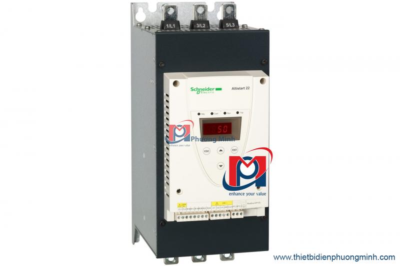 Vì sao phải sử dụng bộ khởi động mềm ATS22 Schneider cho hệ thống điện?