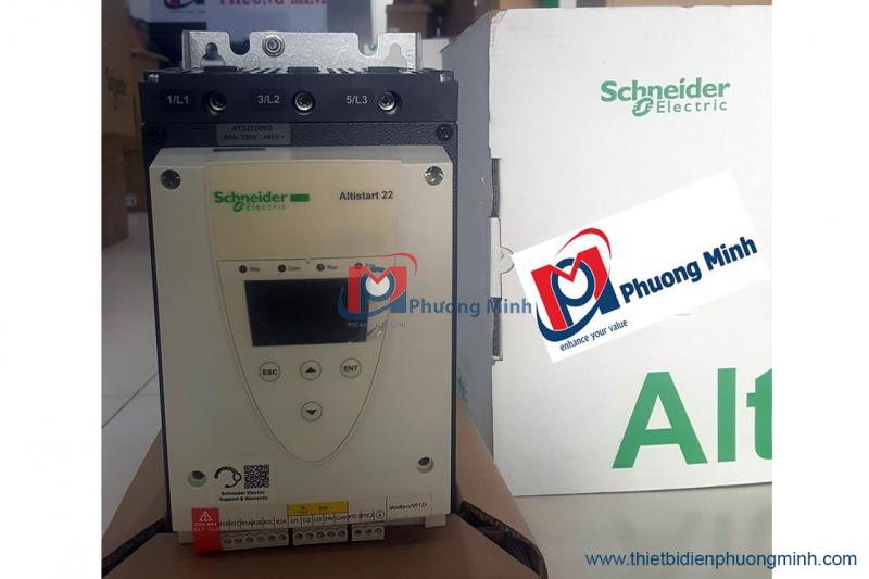 Mách bạn địa chỉ cung cấp khởi động mềm ATS48 Schneider