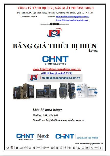 Bảng giá thiết bị điện Chint 06-2020