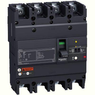 MCCB EASYPACT EZCV250 ELCB