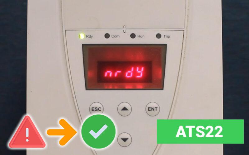 Tổng hợp mã lỗi khởi động mềm ATS22 và cách khắc phục đầy đủ nhất