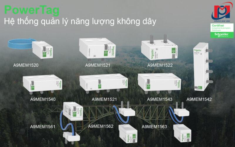 PowerTag: Hệ thống quản lý năng lượng không dây