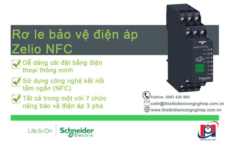 Rơ le Zelio NFC RMNF22TB30 – Giải pháp giám sát điện áp 3 pha tiên tiến và kinh tế